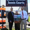 Eileen Carbone Tennis Courts Dedication And Presentation